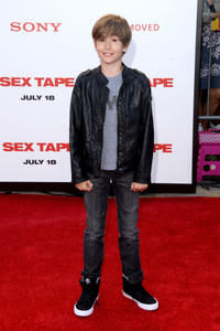Sebastian Hedges Thomas at the California premiere of