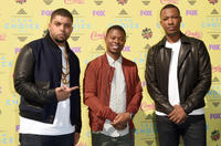 O'Shea Jackson Jr., Corey Hawkins and Jason Mitchell at Teen Choice Awards 2015.