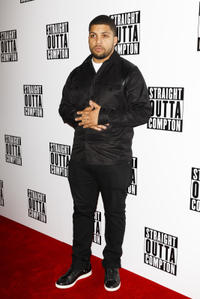 O'Shea Jackson Jr. at the special screening of