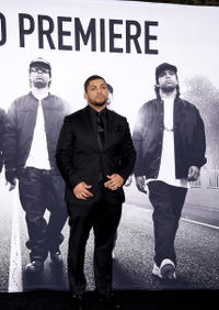 O'Shea Jackson, Jr. at the California premiere of