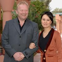 Bjame Henriksen and Vivian Wu at the photocall of