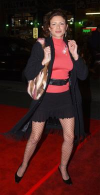 Kari Wuhrer at the premiere of