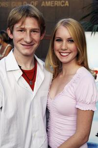 Adam Wylie and Megan Smith at the premiere of