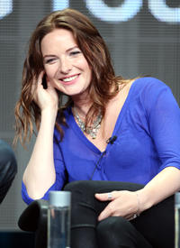 Rebecca Ferguson at the 'The White Queen' panel discussion at the Starz portion of the 2013 Summer Television Critics Association