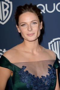Rebecca Ferguson at the Post Party of 71st Annual Golden Globe Awards 2014.