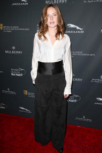 Rebecca Ferguson at the BAFTA LA Awards Tea Party 2014.