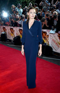 Rebecca Ferguson at the UK Fan Screening of