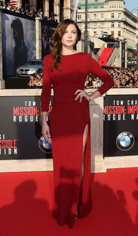 Rebecca Ferguson at the World Premiere of