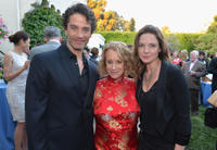 James Frain, Philippa Gregory and Rebecca Ferguson at the U.S. Launch of the Starz Original Series