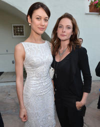 Olga Kurylenko and Rebecca Ferguson at the U.S. Launch of the Starz Original Series