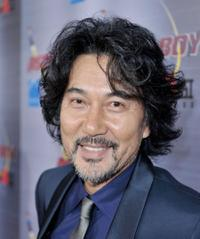 Koji Yakusho at the premiere of
