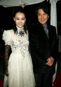Koji Yakusho and Rinko Kikuch at the Toronto International Film Festival gala presenation of