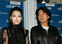 Rinko Kikuchi and Koji Yakusho at the Toronto International Film Festival.