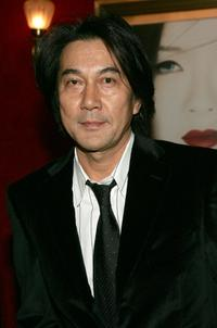 Koji Yakusho at the New York premiere of