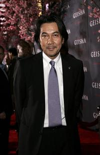 Koji Yakusho at the Los Angeles premiere of