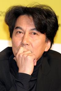 Koji Yakusho at the press conference promoting