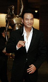 Simon Yam at the Hong Kong film awards.