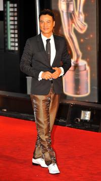Simon Yam at the 28th Hong Kong Film Awards 2009.