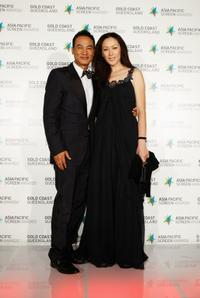 Simon Yam and Qi Qi at the Asia Pacific Screen Awards.