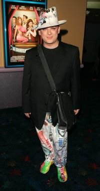 Boy George at the premiere of