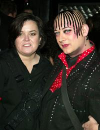 Rosie O'Donnell and Boy George at the after party of