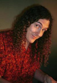 Weird Al Yankovic at the Norby Walter's Holiday Party.