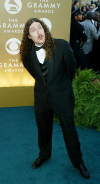 Weird Al Yankovic at the 46th Annual Grammy Awards.
