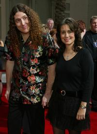 Weird Al Yankovic and Guest at the 31st Annual American Music Awards.