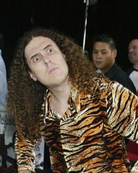 Weird Al Yankovic at the premiere of