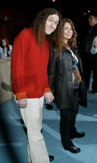 Weird Al Yankovic and Guest at the party celebrating the 5th Anniversary of
