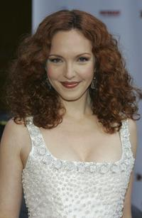 Amy Yasbeck at the HollyRods Designcure 7th Annual Benefit and fashion show.