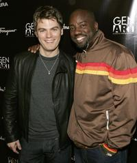 Jeff Branson and Malik Yoba at the Gen Art Eleventh Annual Film Festival Launch Party.