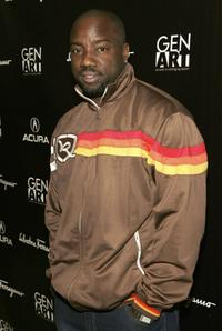 Malik Yoba at the Gen Art Eleventh Annual Film Festival Launch Party.