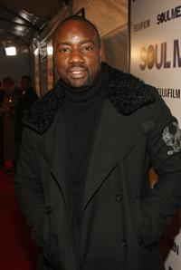 Malik Yoba at the world premiere of