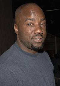 Malik Yoba at the premiere screening of