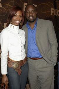 Kat and her husband Malik Yoba at the Fox Winter TCA Party.