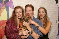Rachel York, Eric Stoltz and Elizabeth Berkley at the Sixth Annual Broadway Barks Adoption Event.