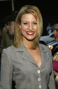 Rachel York at the Broadway opening of