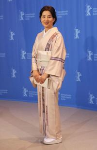 Sayuri Yoshinaga at the photocall of