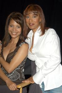 Renee Jones and Tanya Boyd at the second day of NBC's Fan Festival 2004.