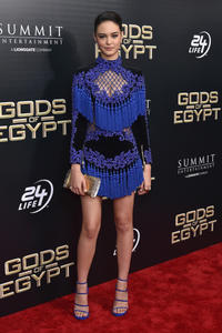 Courtney Eaton at the New York premiere of