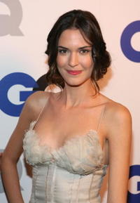 Odette Yustman at the GQ 2007 Men Of The Year celebration in Hollywood.