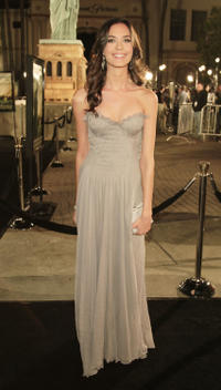 Odette Yustman at the L.A. premiere of