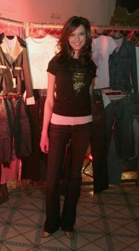 Odette Yustman at the party for Karl Kani's new London based line