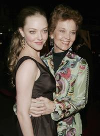 Amanda Seyfried and Grace Zabriskie at the premiere of