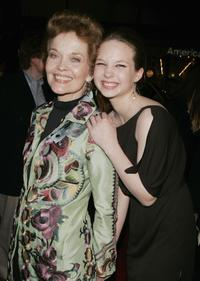 Grace Zabriskie and Daveigh Chase at the premiere of