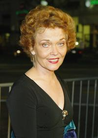 Grace Zabriskie at the premiere of