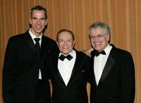 Jerry Mitchell, Jerry Herman and Jerry Zaks at the opening night of