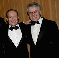 Jerry Herman and Jerry Zaks at the after party of the opening night of