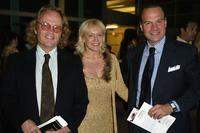 John Savage, Lenore Zann and Diego Brasioli at the opening evening of Los Angeles Italian Film Awards.